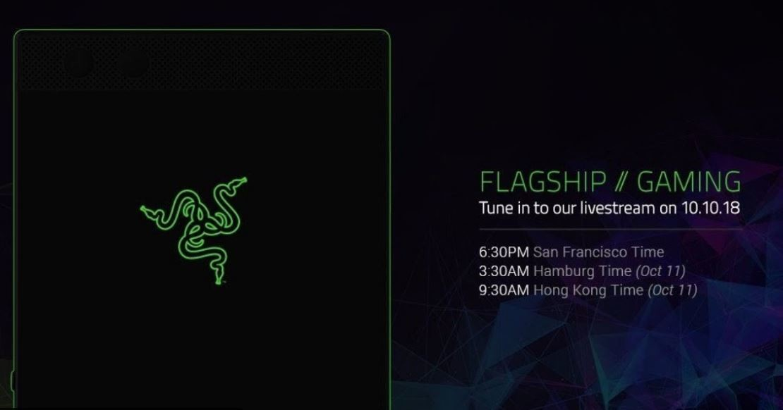 Razer has unveiled its new US$799 Razer Phone 2