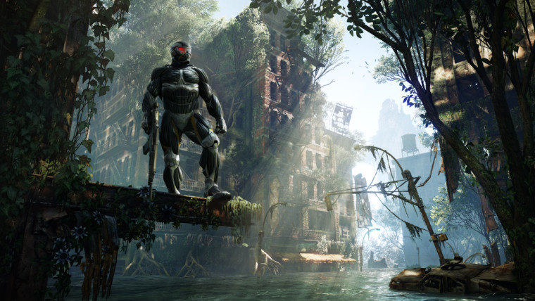 This is a screenshot from Crysis 3