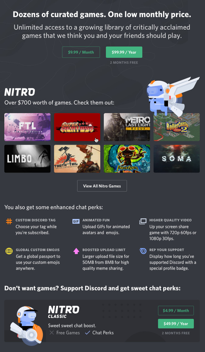 Discord opens its games store beta to the public, overhauls