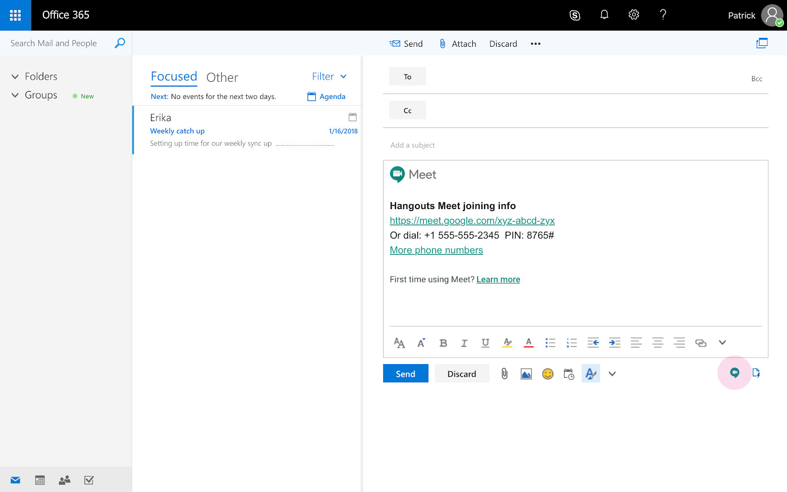 Hangouts Meet now lets G Suite users create video meetings with new