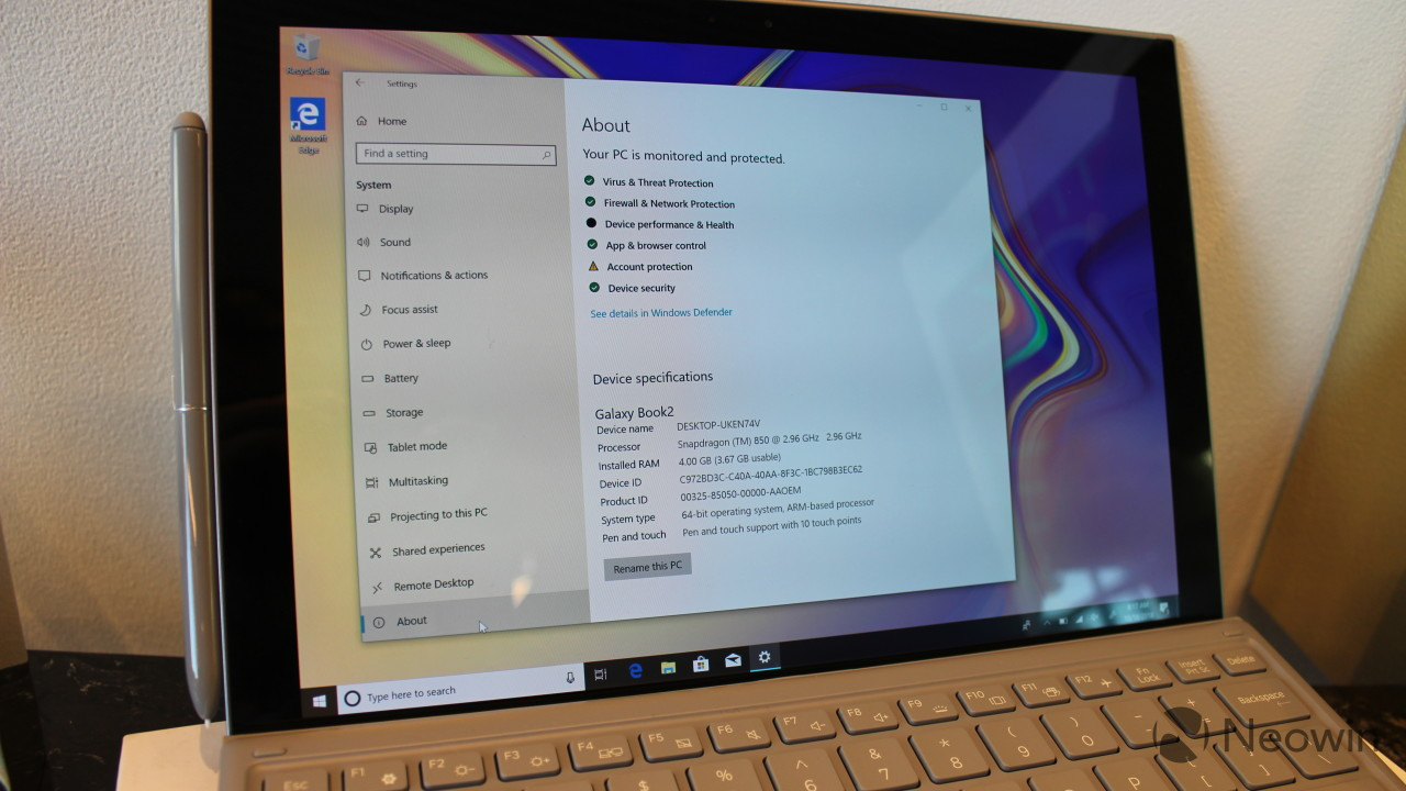Samsung Galaxy Book2 review: Windows on ARM gets a lot