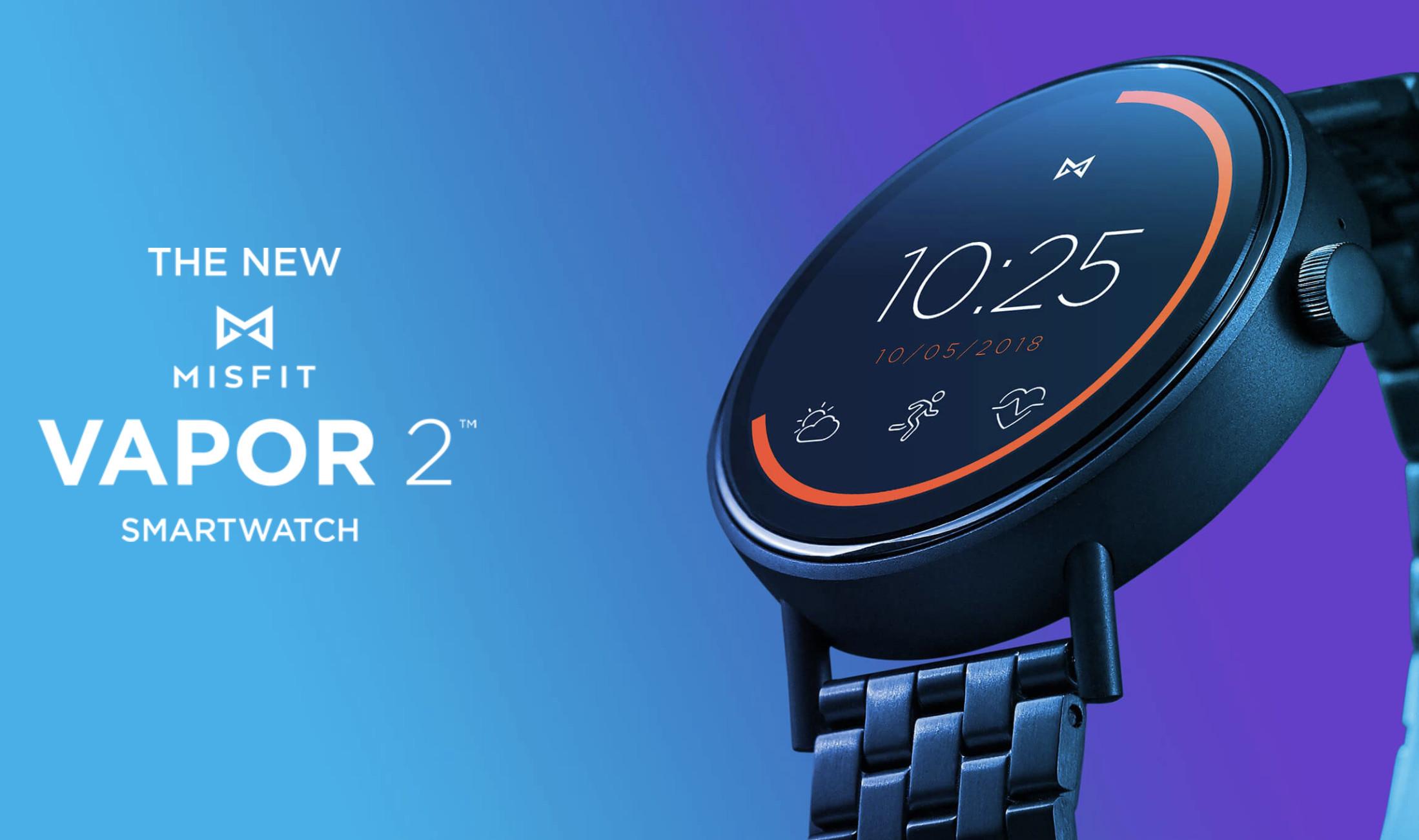 Misfit announces Vapor 2 smartwatch running Wear OS