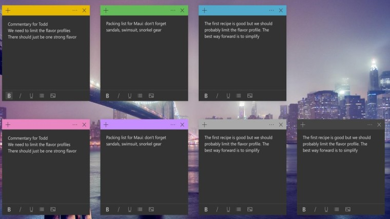Sticky Notes 3 1 begins rolling out to users on Windows 10 version