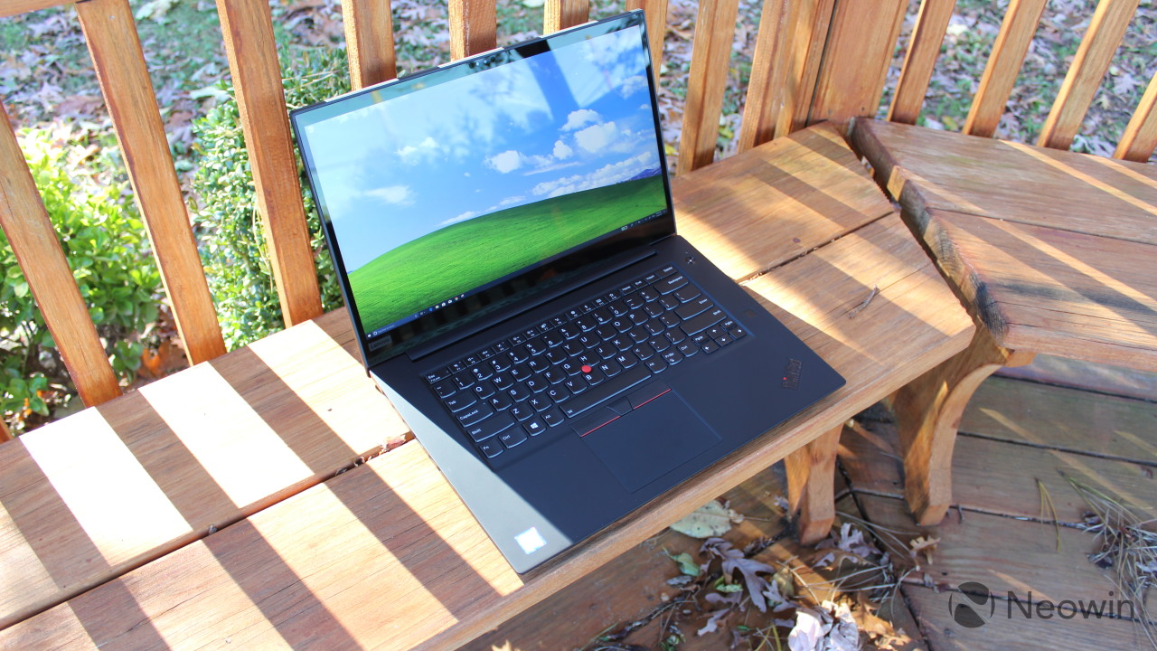 Lenovo ThinkPad P1 review: Xeon and Quadro power in a four-pound