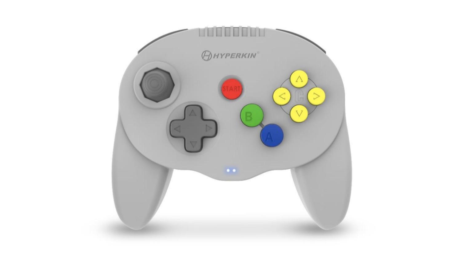 Hyperkin's Admiral is a wireless Bluetooth Nintendo 64 controller