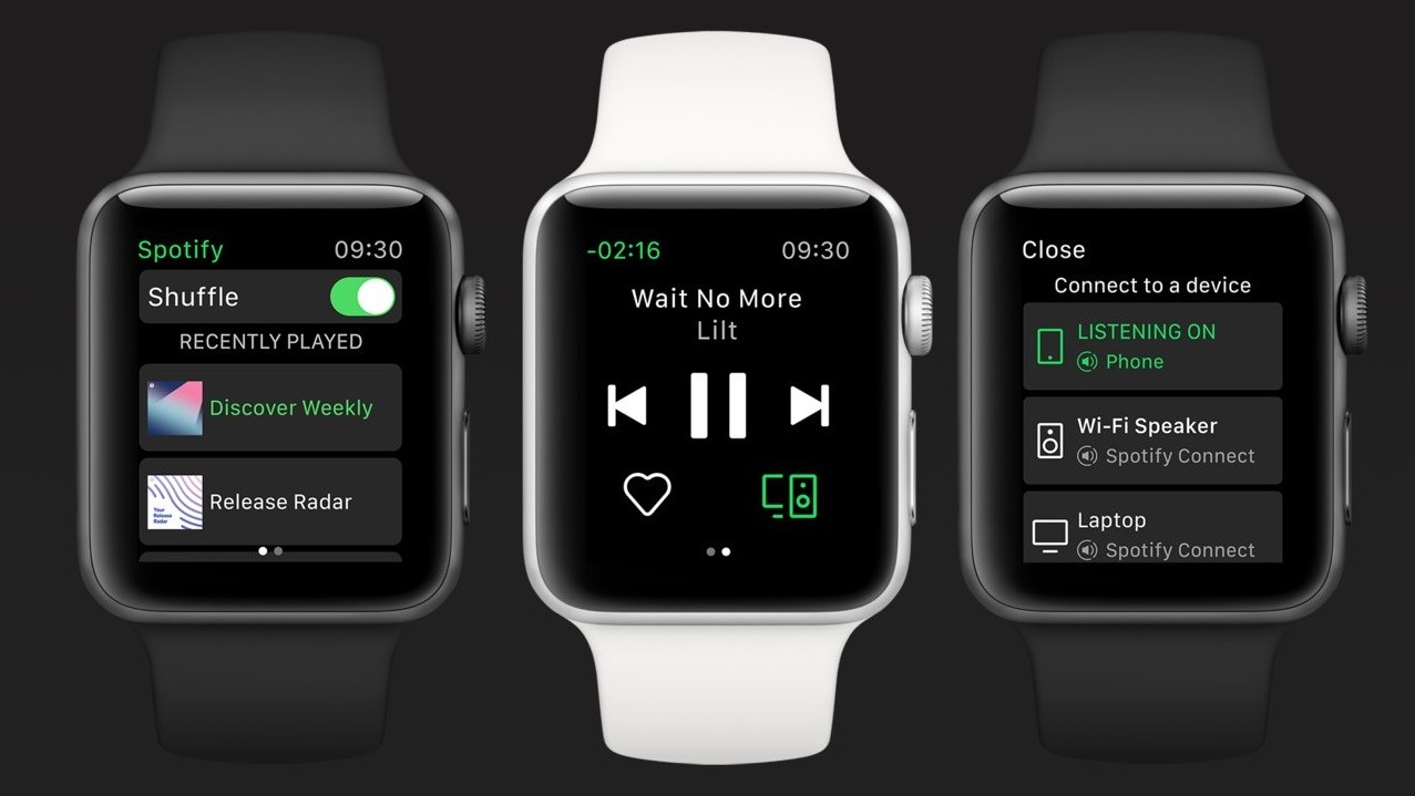 Spotify launches its app for the Apple Watch, rolling out