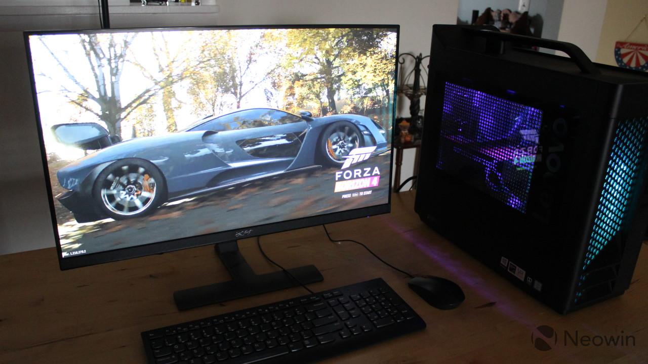 Lenovo Legion T730 review: Core i7-8700K and Nvidia GTX