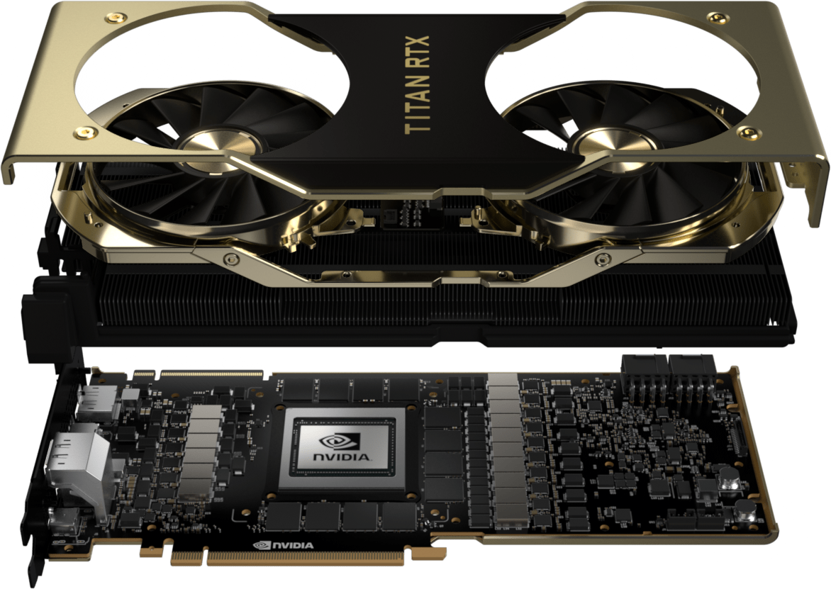 Nvidia's Titan RTX costs $2,499 offering 130 teraflops of compute