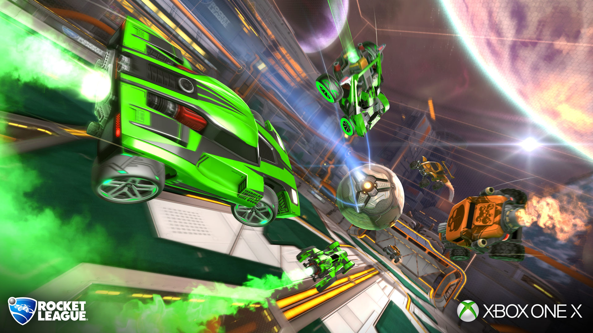 Rocket League is now Xbox One X enhanced - Neowin