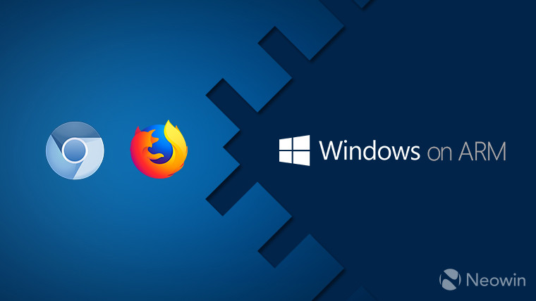 Both Chromium and Firefox are coming to native Windows on ARM