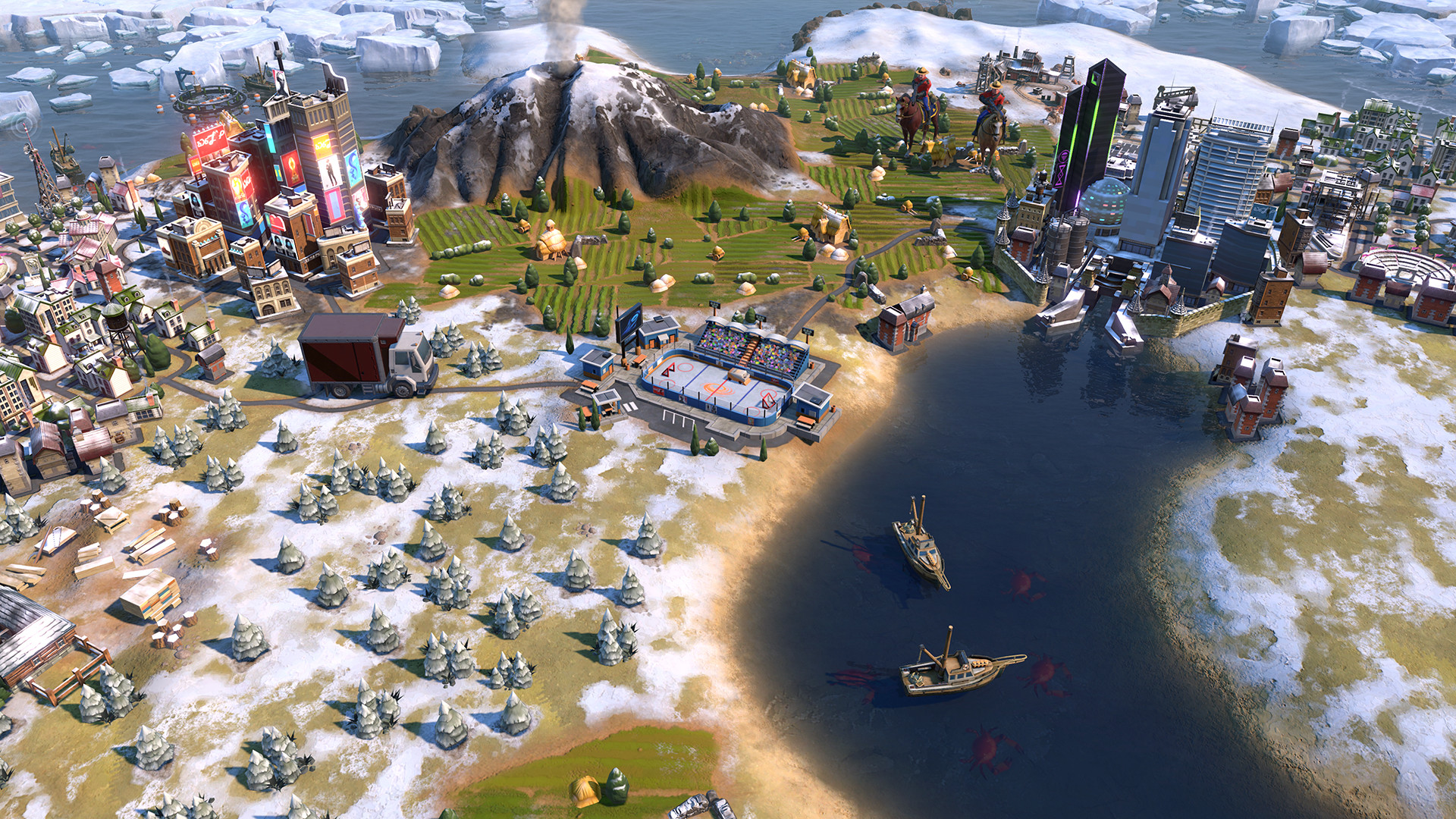 Canada is peacefully making its way to Civilization VI: Gathering Storm