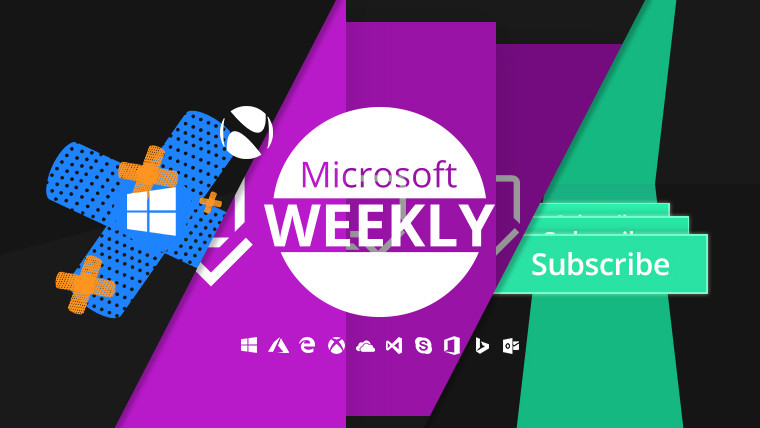 Microsoft Weekly: More patches, some hardware, and a subscription