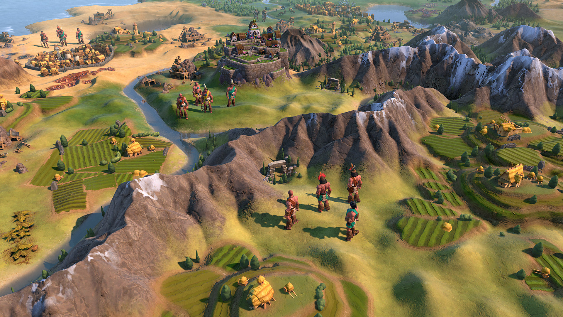 Civilization VI: Gathering Storm also brings the Inca with a strong