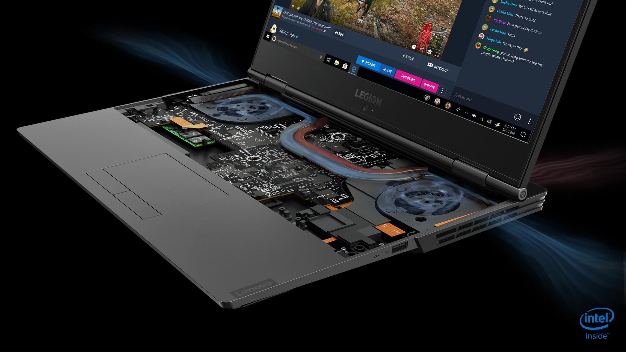 Lenovo's new Legion gaming laptops have Nvidia RTX graphics
