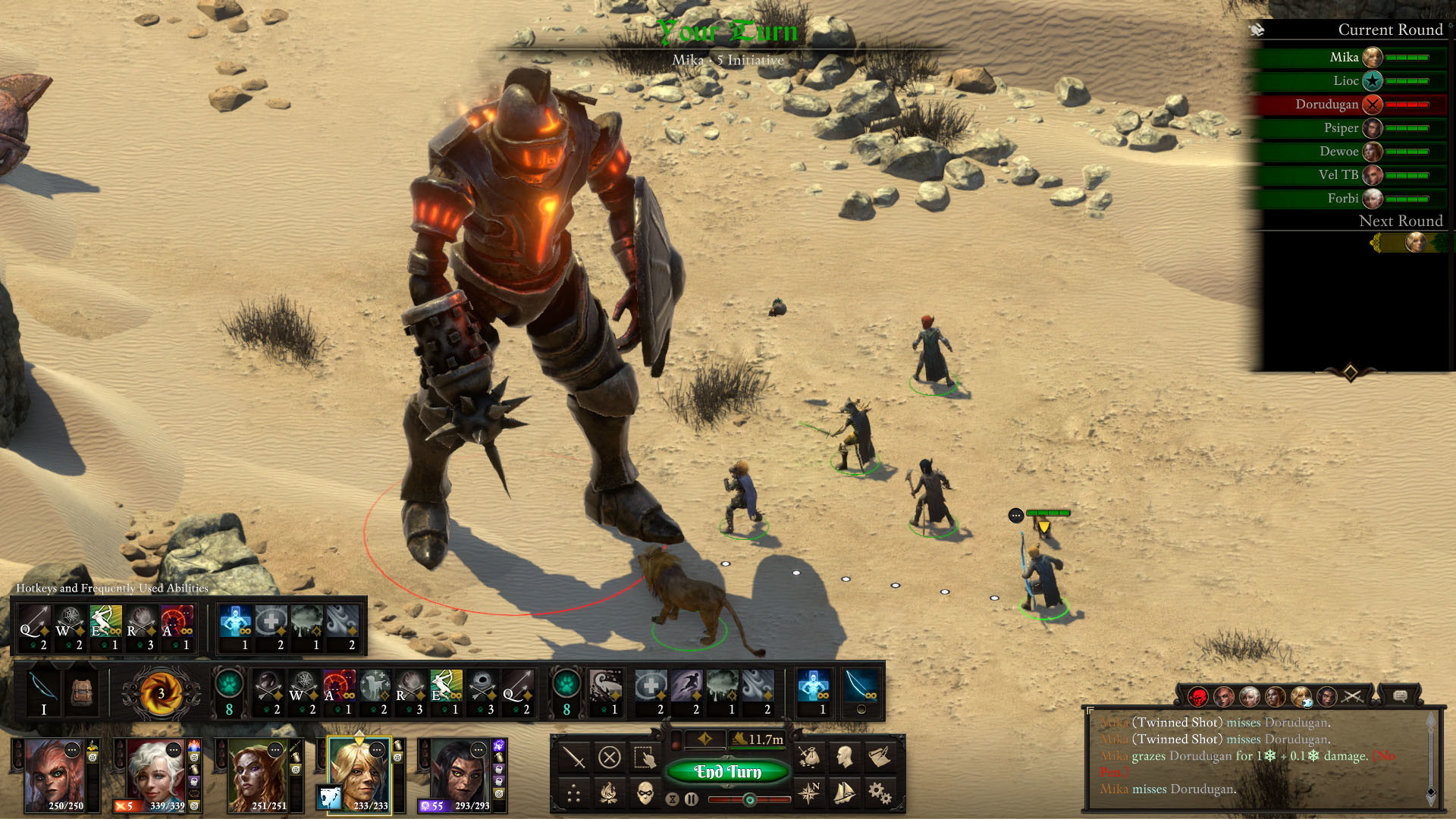 Obsidian's Pillars of Eternity 2 will get turn-based combat in free