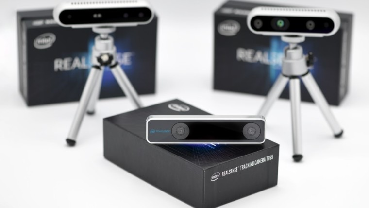 QnA VBage Intel unveils new RealSense camera for AR, autonomous devices
