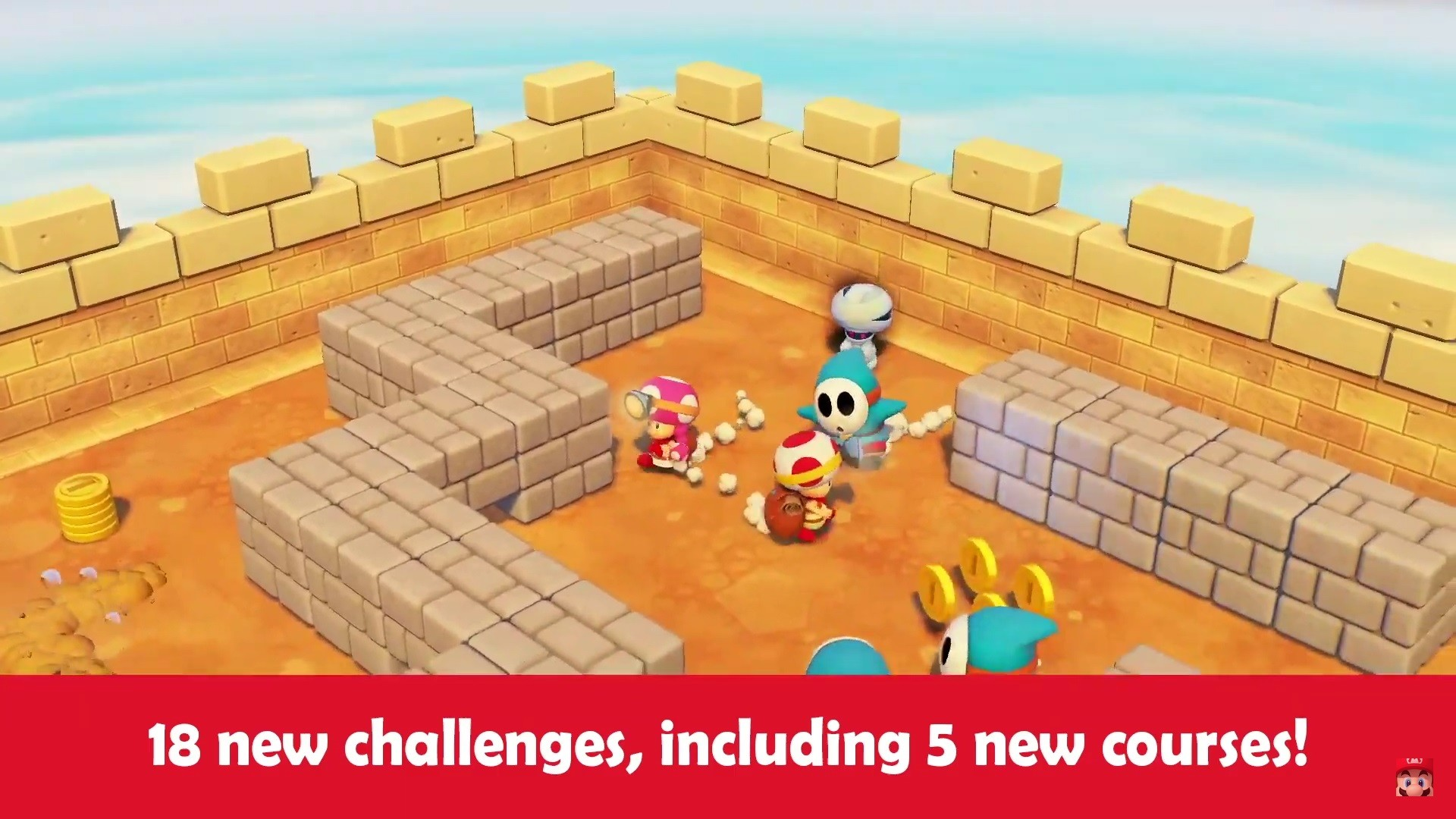 Nintendo announces free update and paid DLC for Captain Toad
