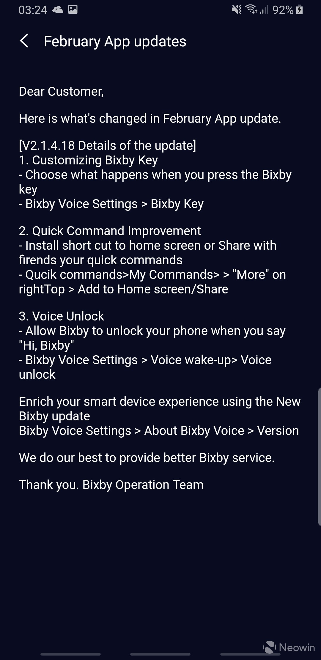 Bixby button re-map now available on older Samsung