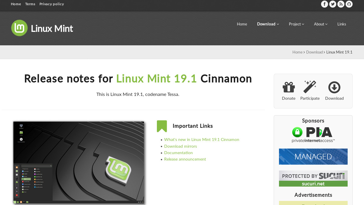 Linux Mint project shares software and website developments