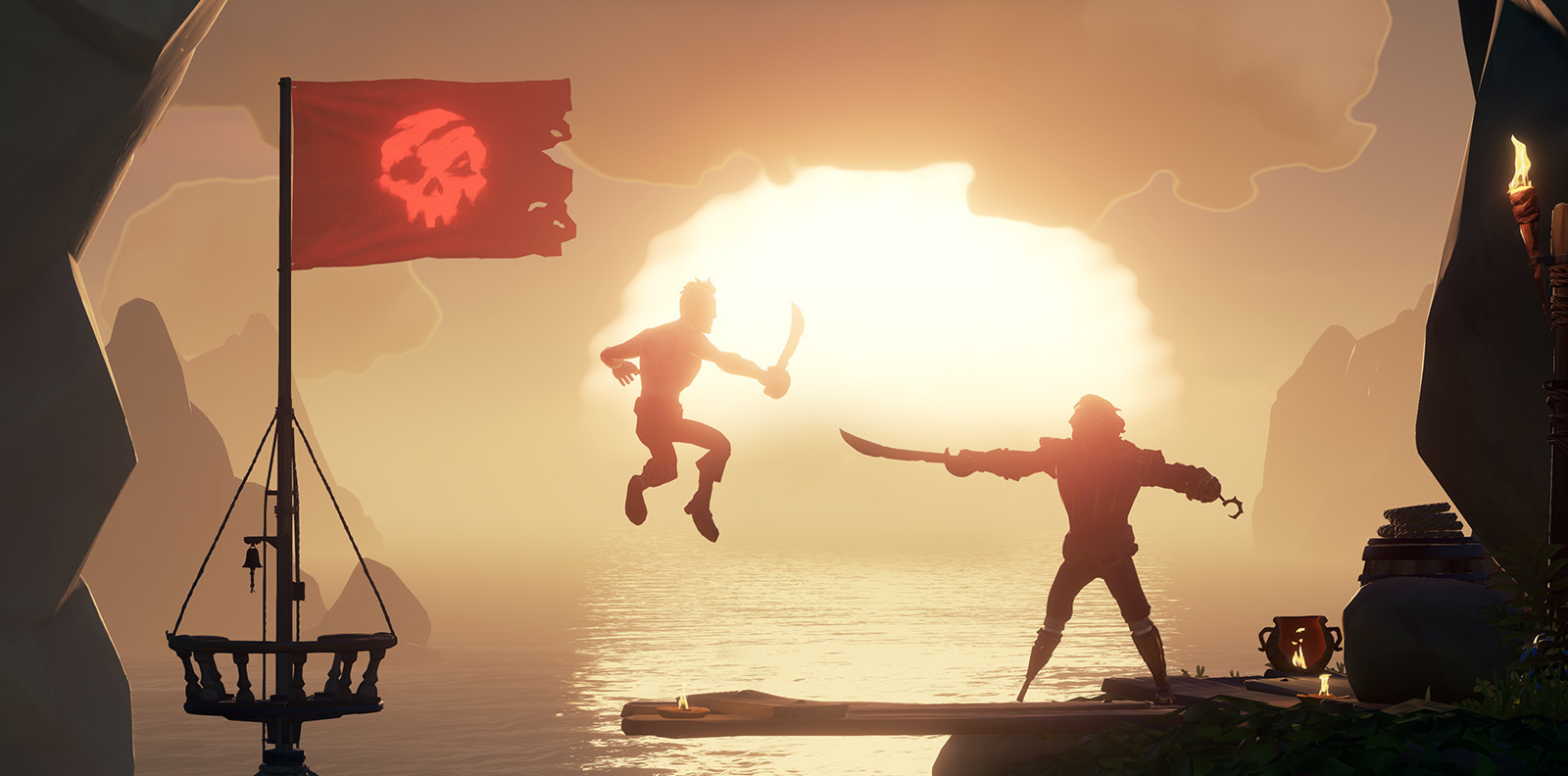 adeda4b4ce414 Sea of Thieves 1.4.4 update introduces a new Mercenary Voyage type ...