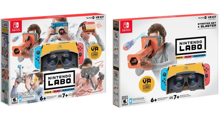Image result for nintendo labo vr