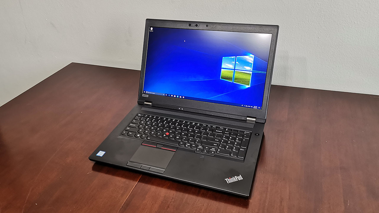 Lenovo ThinkPad P72 review: A mobile workstation at its best - Neowin
