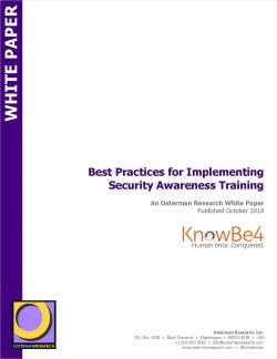 Best Practices for Implementing Security Awareness Training - free