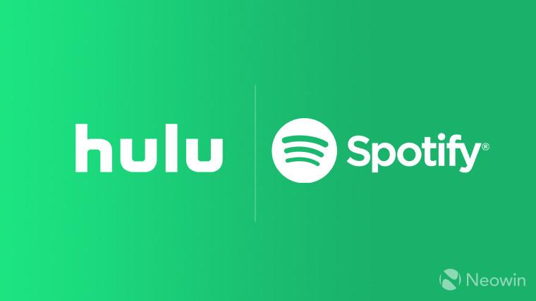 Spotify now bundles Hulu with its Premium membership at no extra