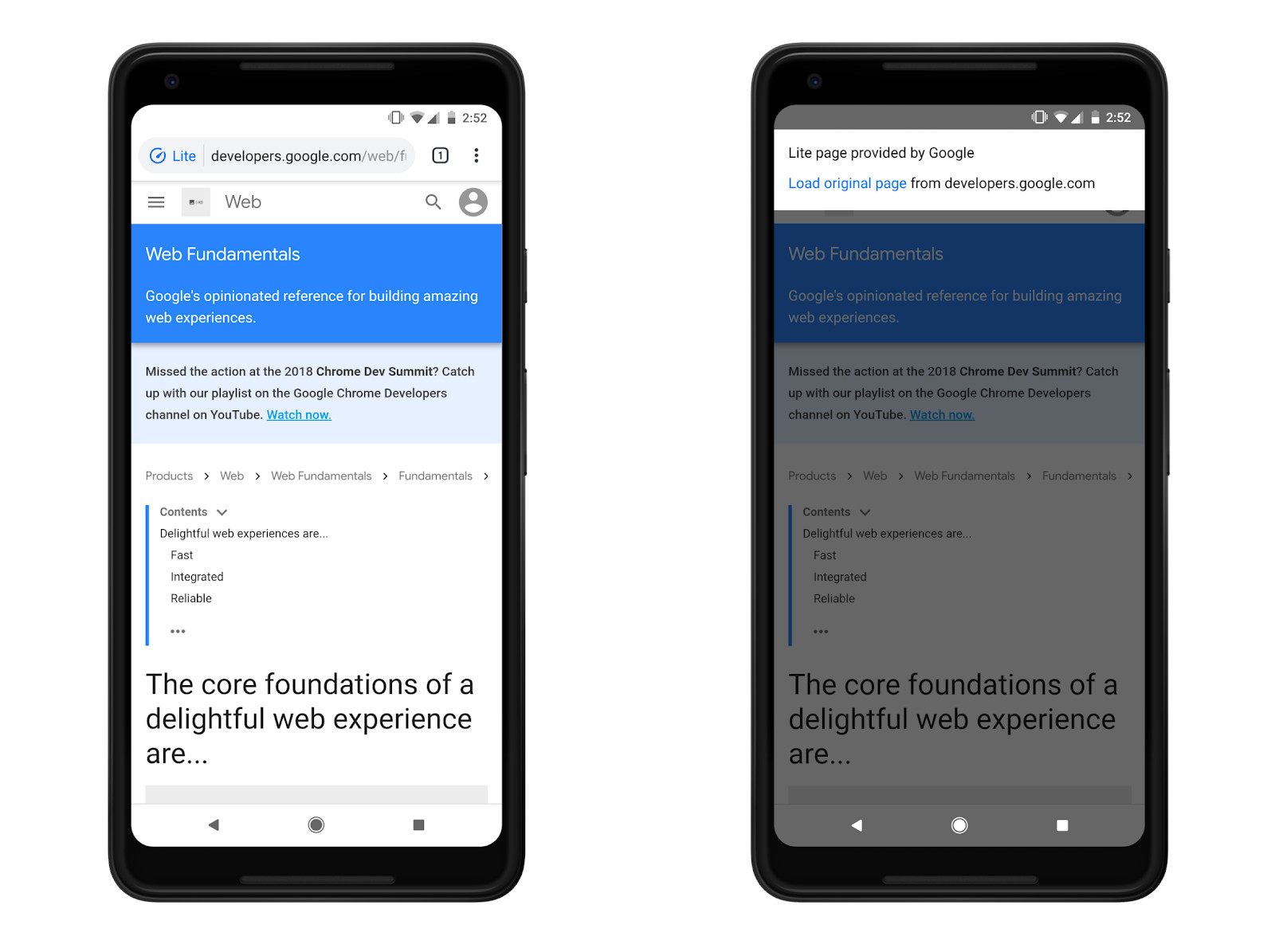 Data Saver feature for Chrome on Android is now available for HTTPS