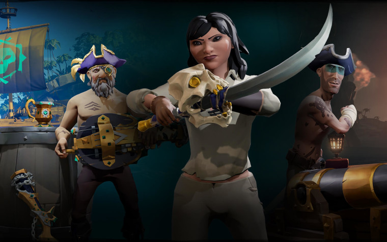 Sea of Thieves 1 4 5 update has anniversary gifts and Xbox