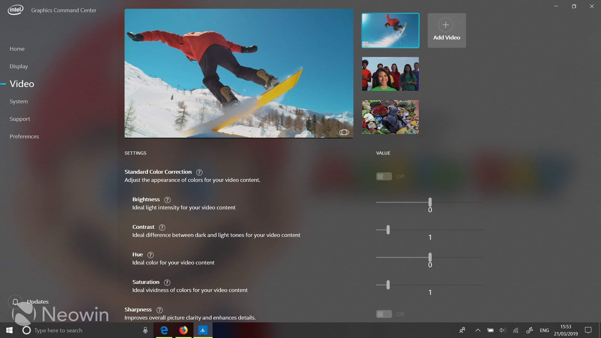 Intel introduces new Graphics Command Center app for Windows
