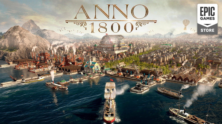 Ubisoft's Anno 1800 heads to Epic Games Store, will be removed from