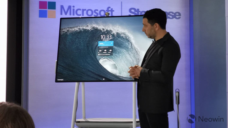 Image of article 'Windows 10 Team 2020 Update will be available for Surface Hub 2S next week'