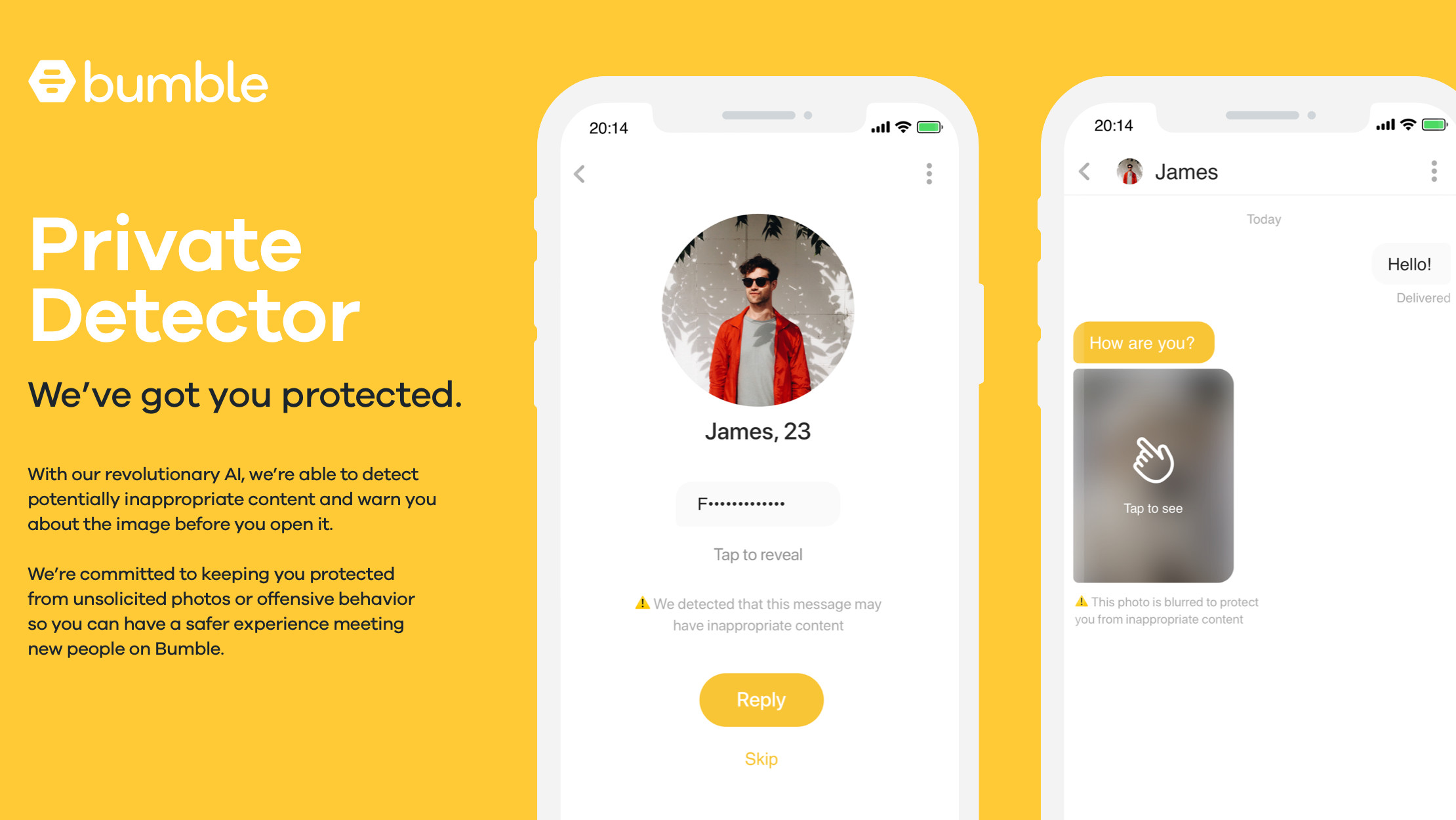 Bumble dating sovellus PC