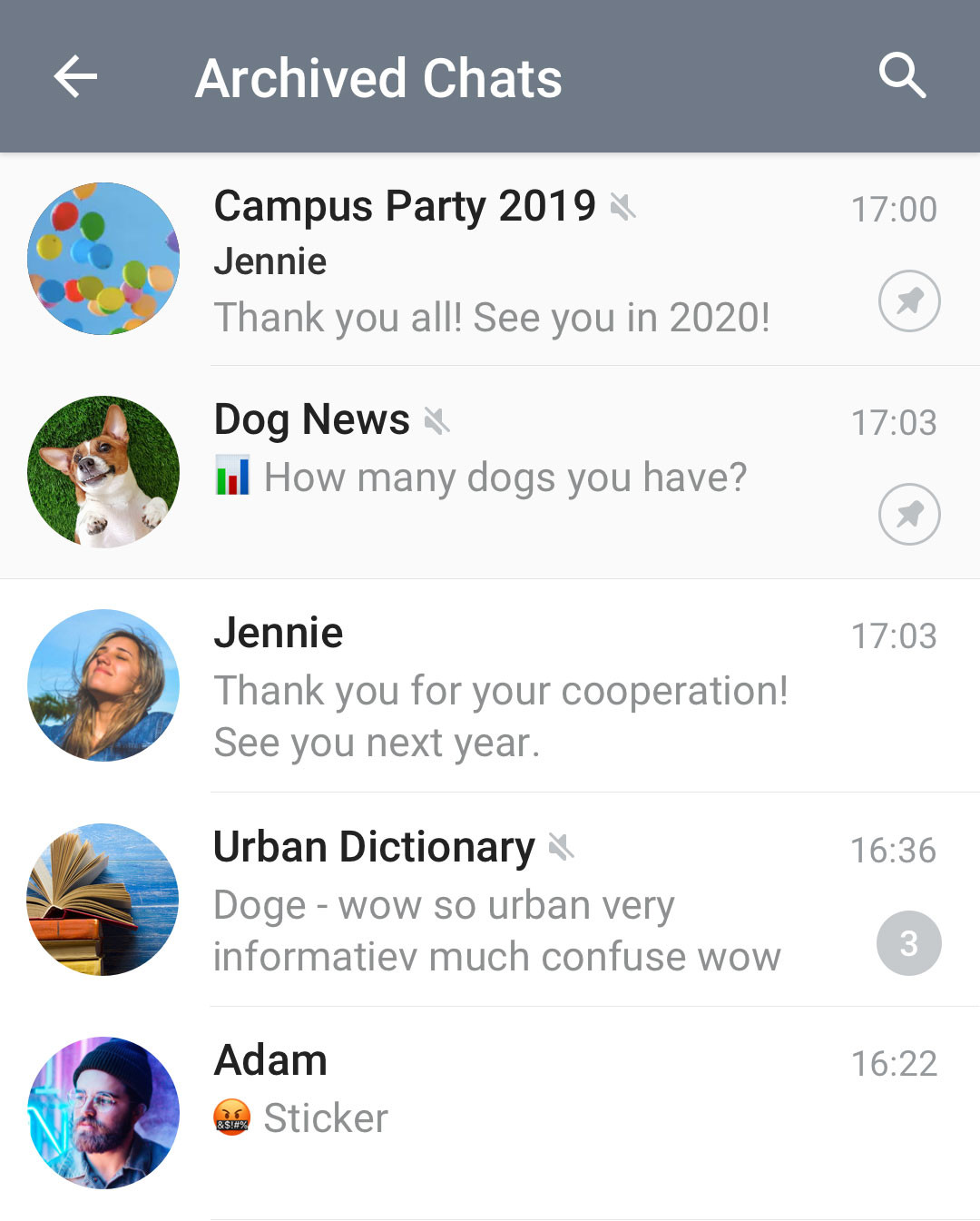 Telegram introduces visual refresh for Android, adds archived chats