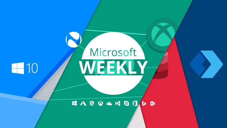Microsoft Weekly: 1903 for everyone, many a game in the cloud, and changing icons