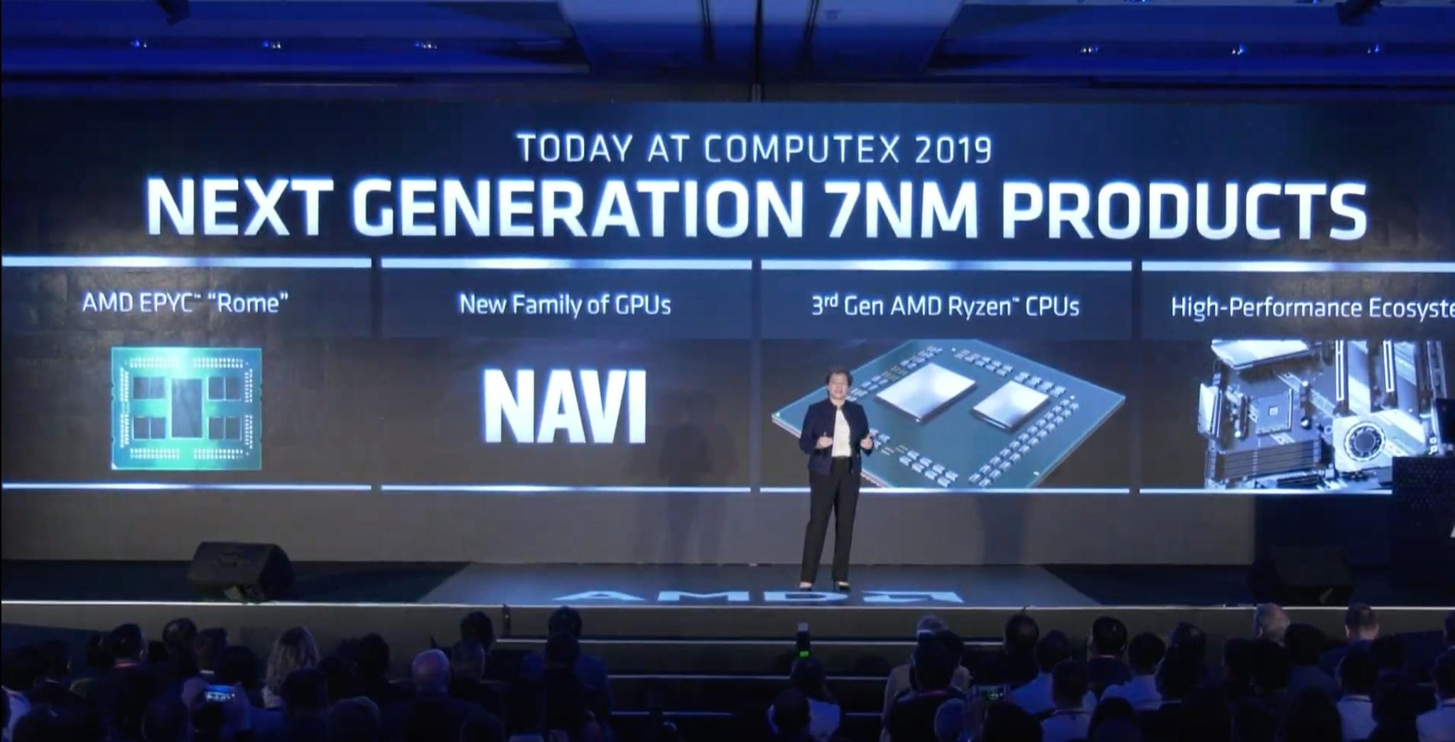 AMD announces its 7nm Ryzen 3000 CPU and Radeon 5000 GPU