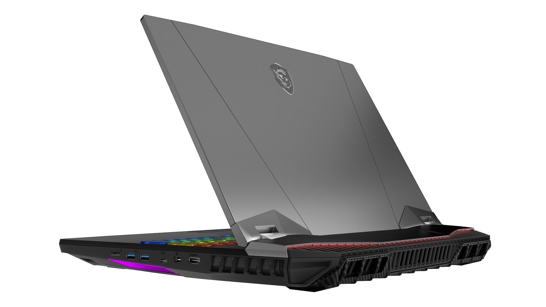MSI's new GT76 Titan laptop has a 5GHz desktop Core i9