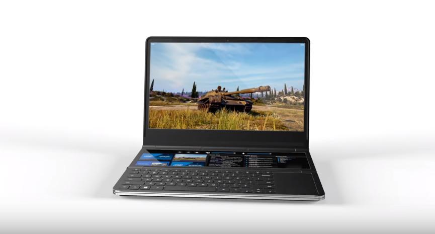 Intel demos dual-screen laptop concept 'Honeycomb Glacier