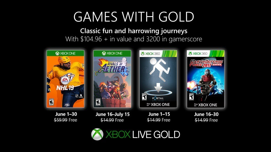 Xbox Free Games June 2020.Games With Gold Rivals Of Aether And Earth Defense Force