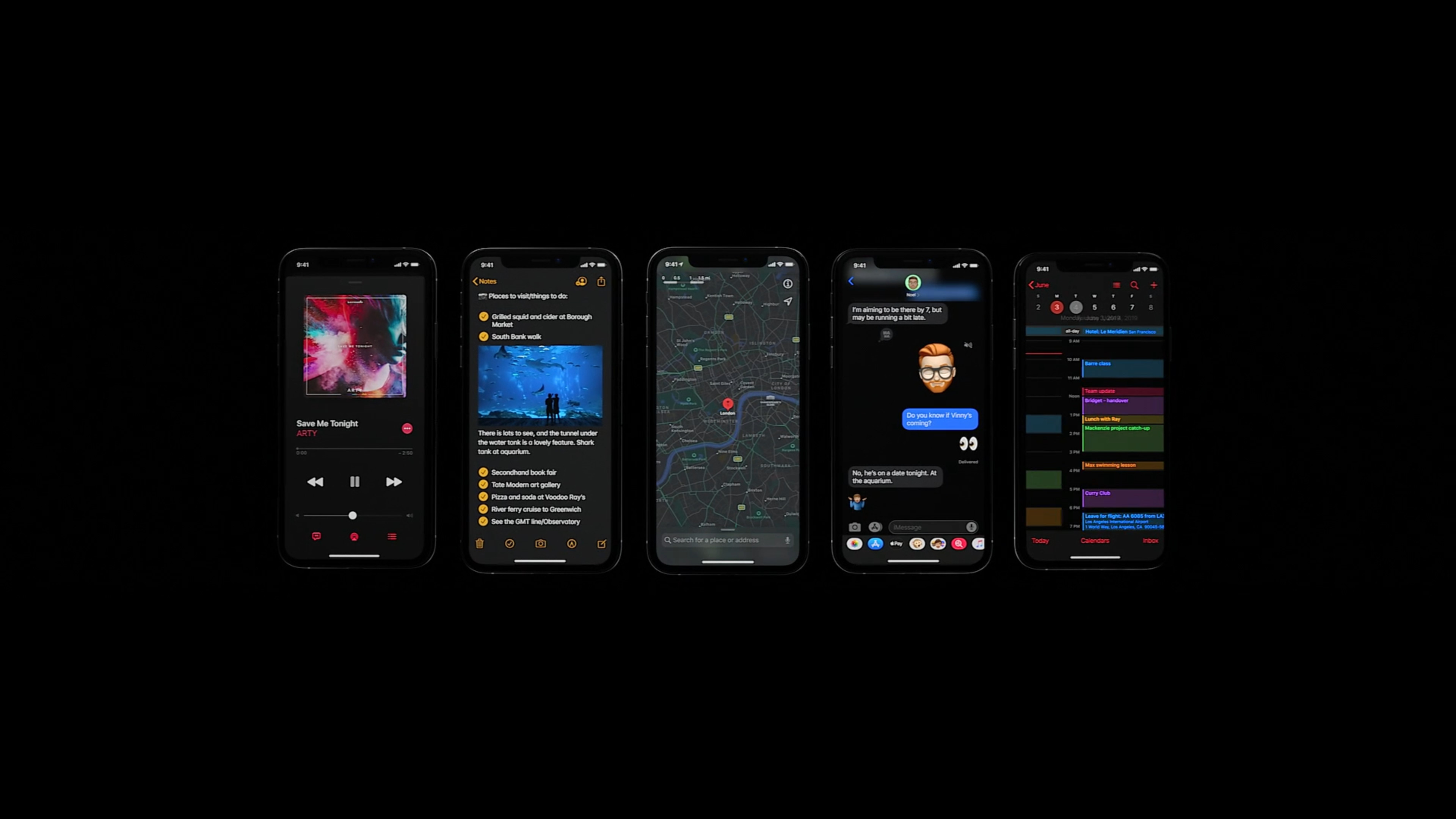 Apple Announces Ios 13 With Dark Mode New Privacy Features And