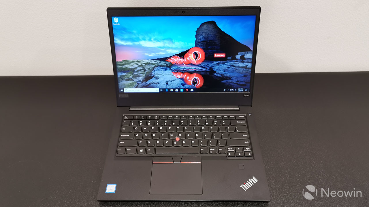 Lenovo ThinkPad E490 unboxing and first impressions - Neowin