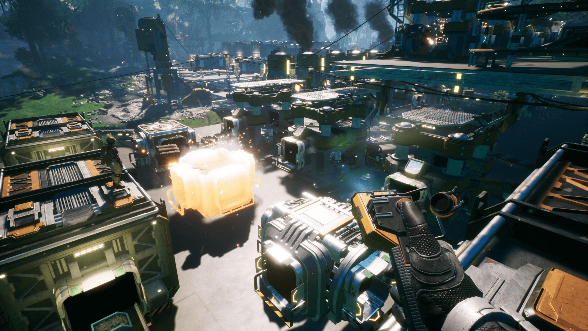 Satisfactory has sold over 500,000 copies as an Epic Games