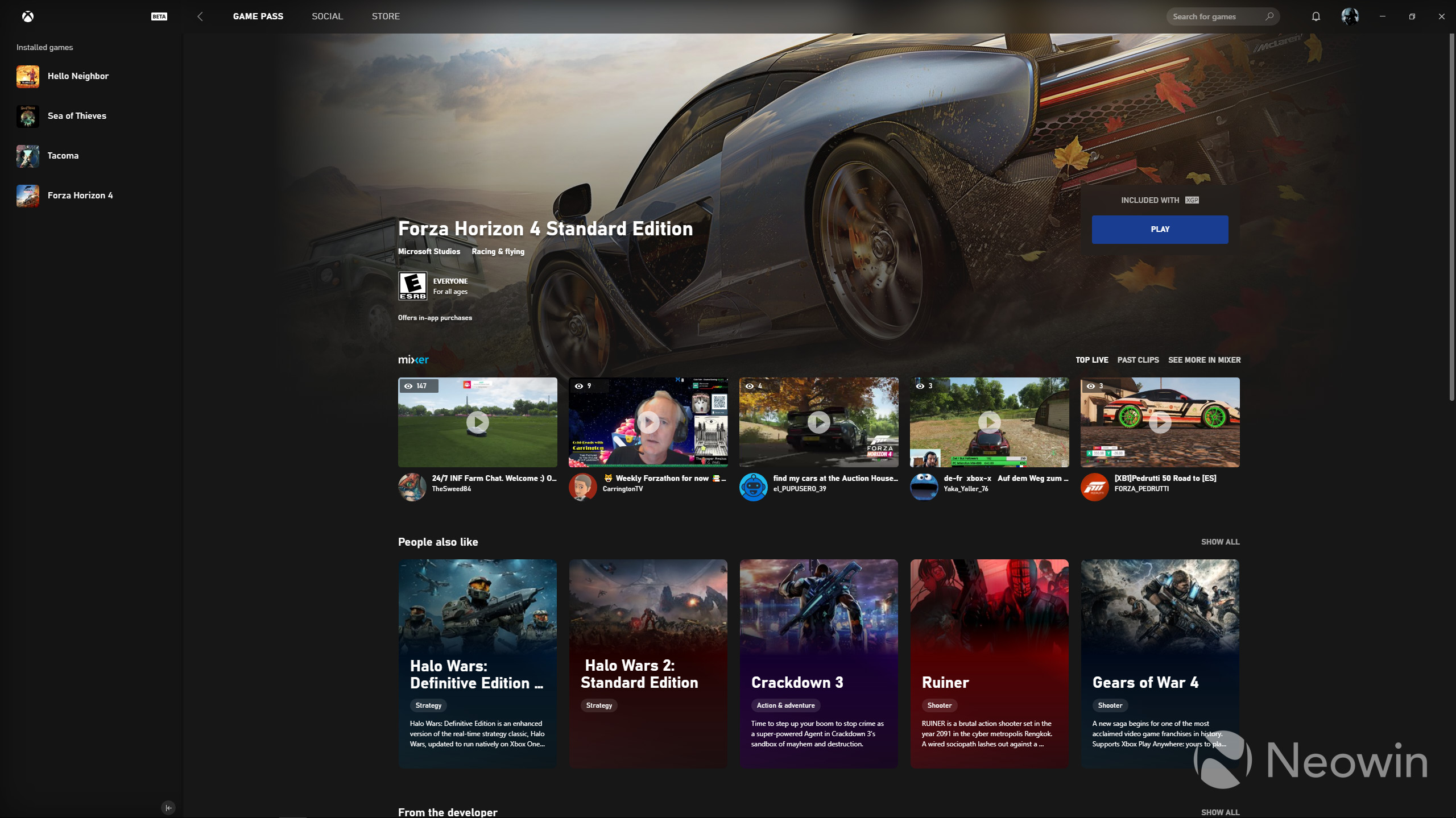 New Xbox app for PC surfaces, combines Xbox Game Pass, store, and