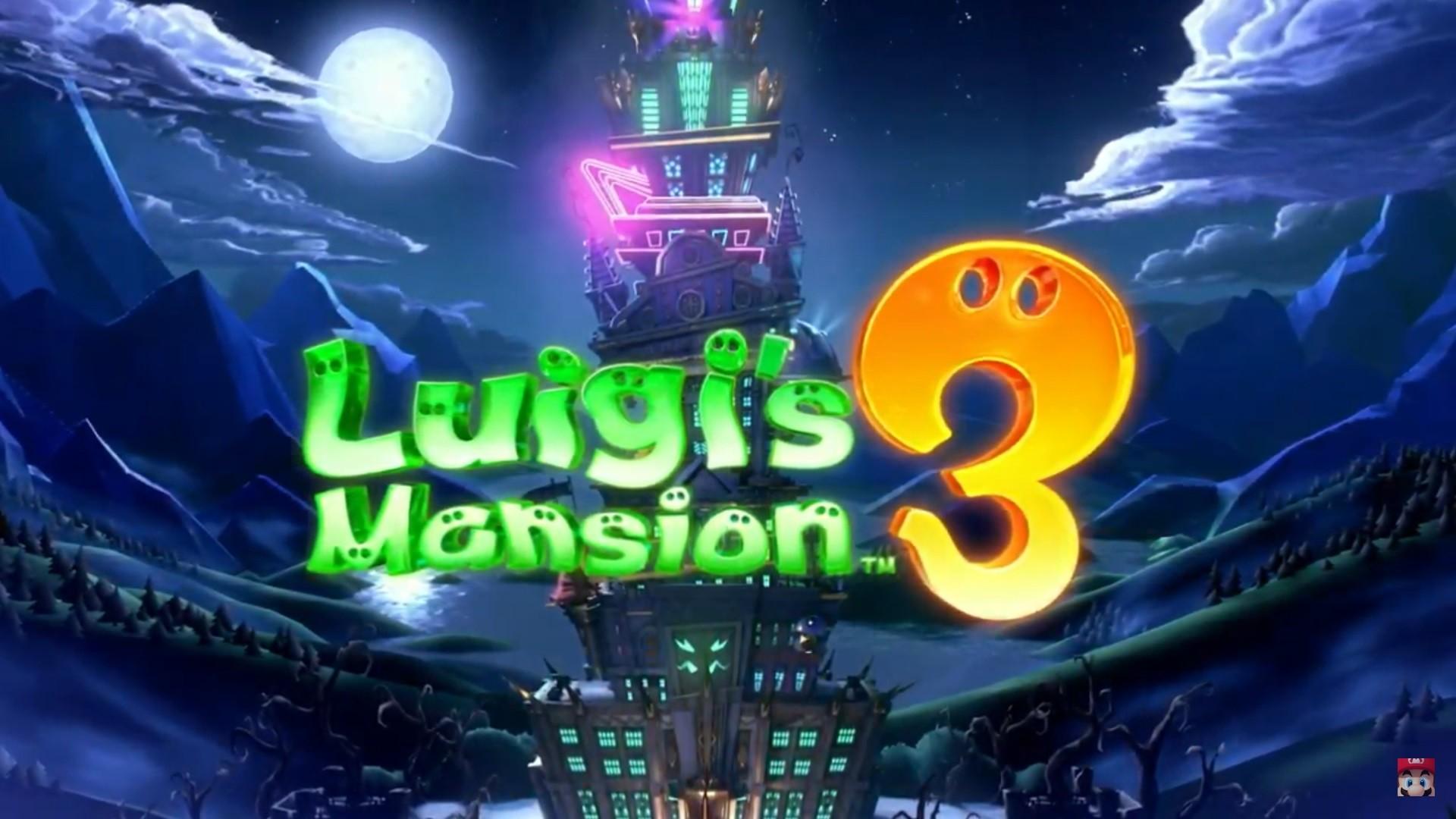 Nintendo Shares More Details About Luigi S Mansion 3