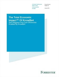 Forrester TEI Study: Value of KnowBe4 Goes Beyond ROI - Free White