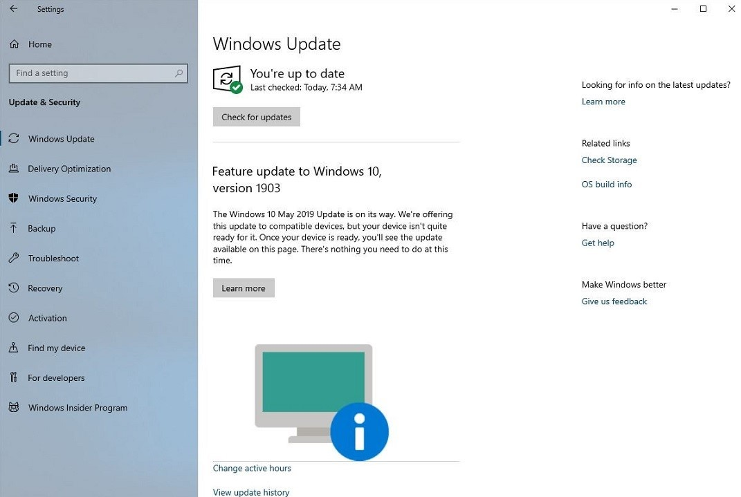 Microsoft is now letting users know when their PC isn't
