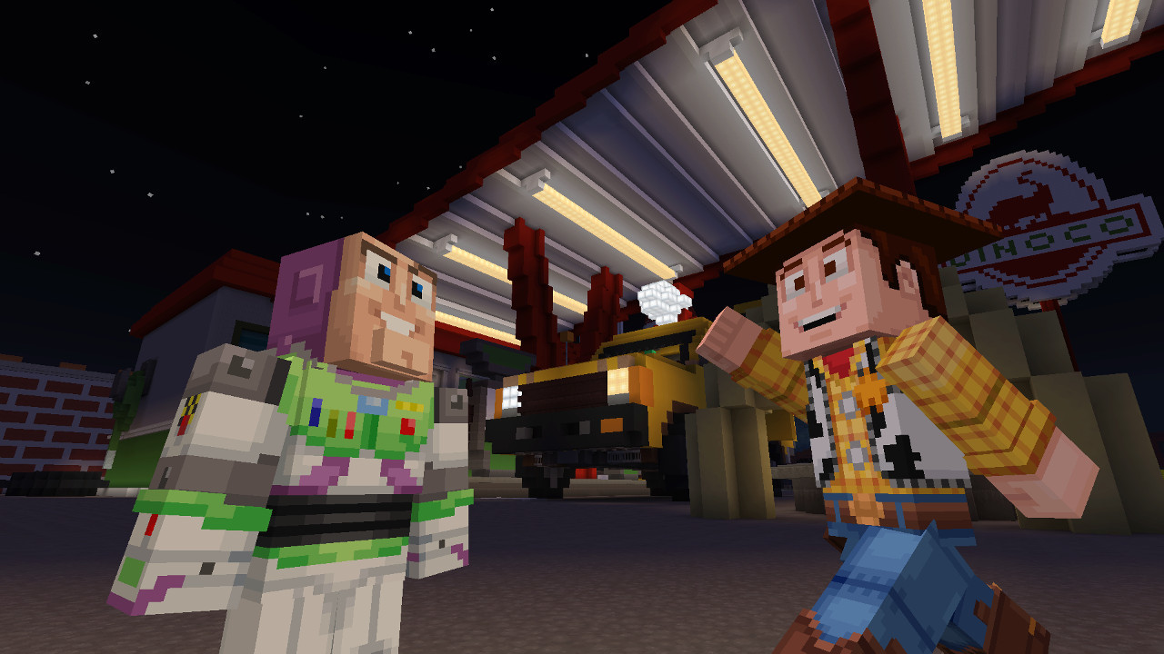New Toy Story Mash Up Pack Is Now Available For Minecraft Neowin