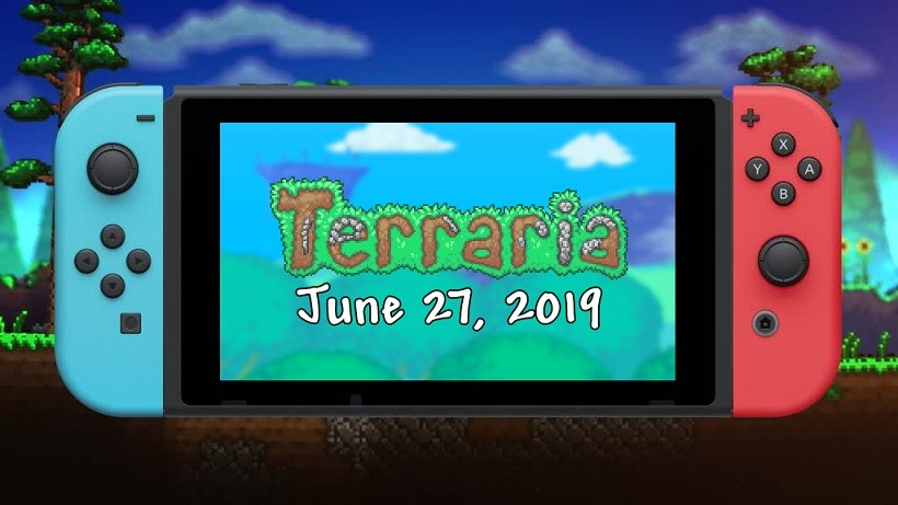 Terraria for Nintendo Switch to launch in digital download