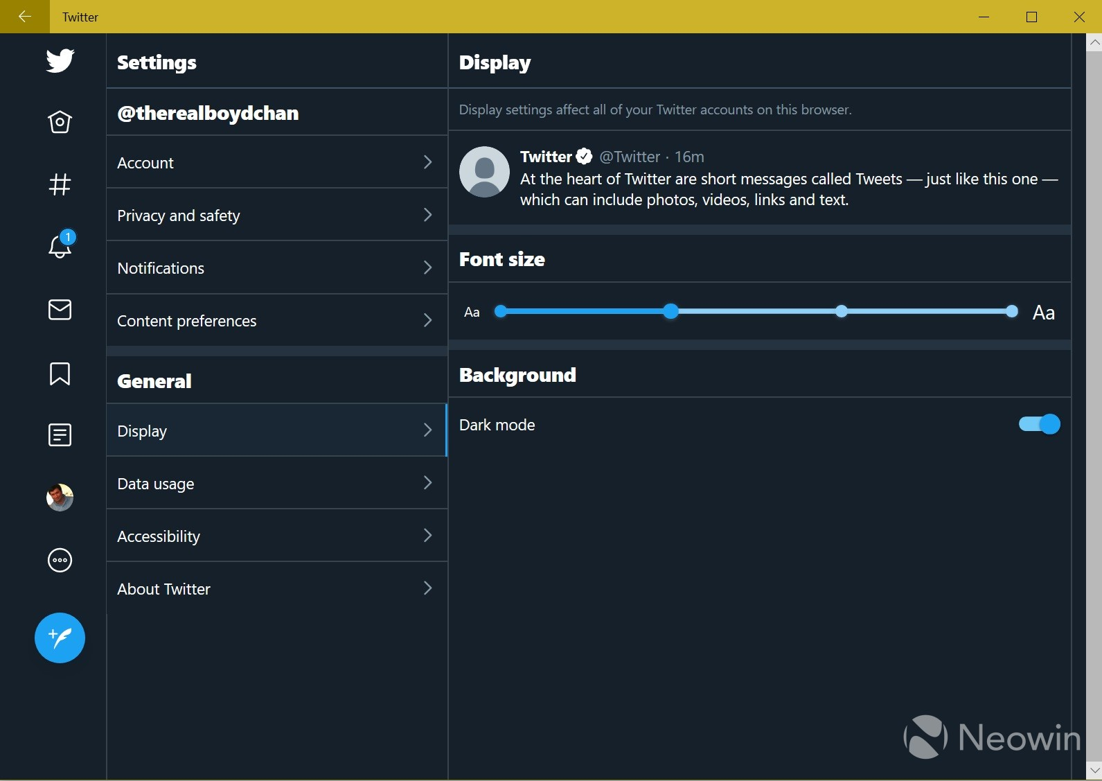 Twitter internally trialing updated layout in its PWA for